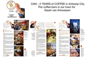 Coffee Bars in Antwerp City